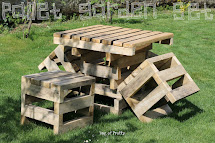 Bag Of Pretty Surprise - Pallet Garden Furniture