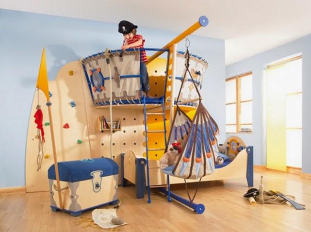 habitación divertida niño