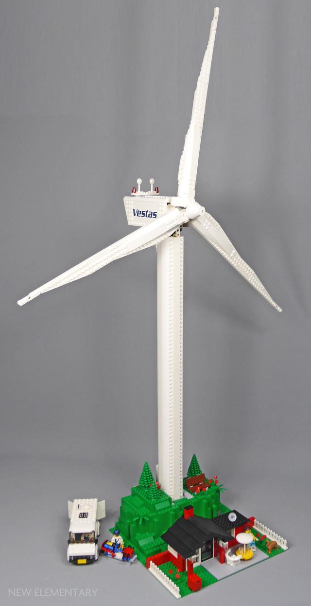 LEGO® Creator Expert 10268 Vestas Wind Turbine | New Elementary, a
