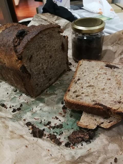 pan de centeno y chocolate