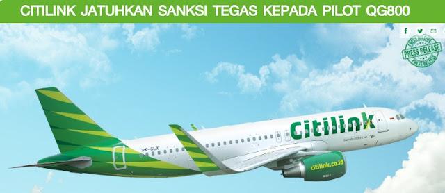 Maskapai Penerbangan Citilink Indonesia
