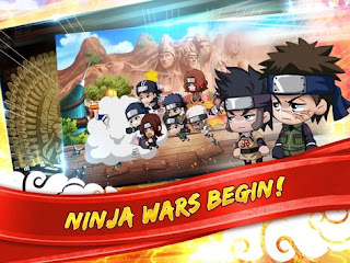 Ninja Heroes V1.1.0 Mod Apk (Mega Mod + Gold)