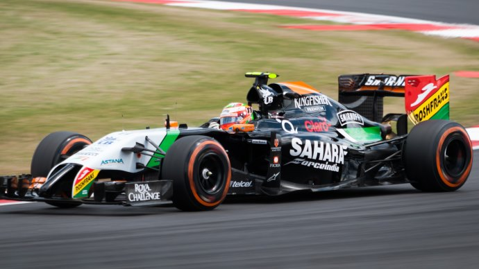 Wallpaper: Force India Formula 1 F1 on Silverstone
