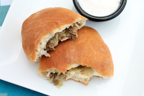 Famous Nebraska Runza Sandwiches
