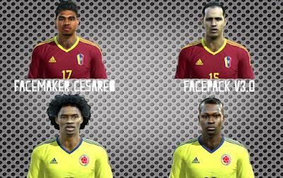 Facepack Copa America Centenario