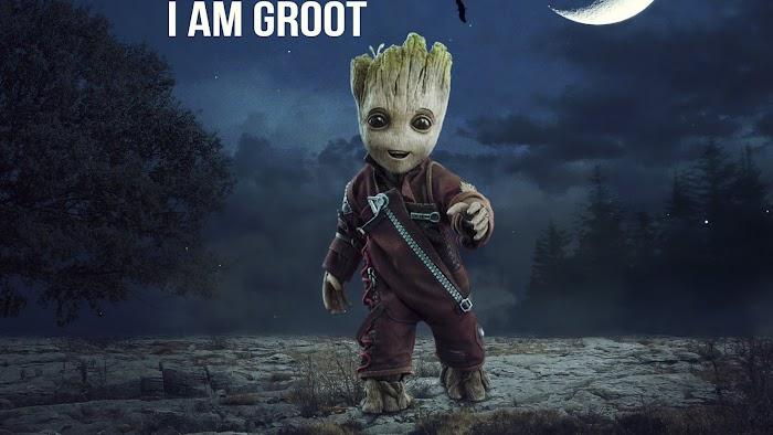 Baby Groot HD Wallpaper-4K with Download Link