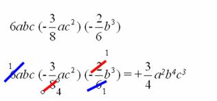 Matematica Scuola Secondaria 1 Grado Operazioni Con I Monomi