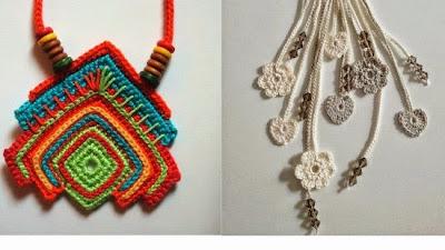 7 Collares de Crochet Inspiracion