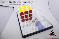 Jual alat sulap Cube3 By Steven Brundage rubik instan