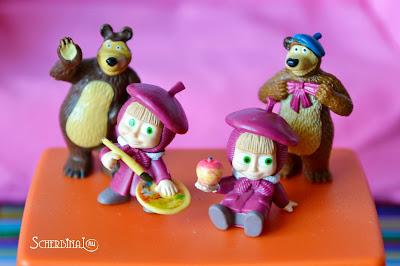 Kinder Surprise, киндер сюрприз, Маша и Медведь