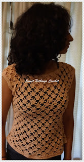 free simple crochet top pattern