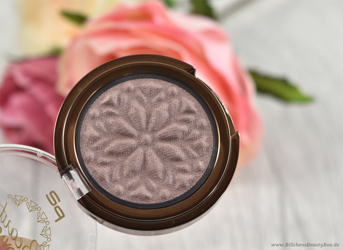 p2 cosmetics - Beauty VOYAGE Limited Edition - moroccan love eye shadow - beige sand