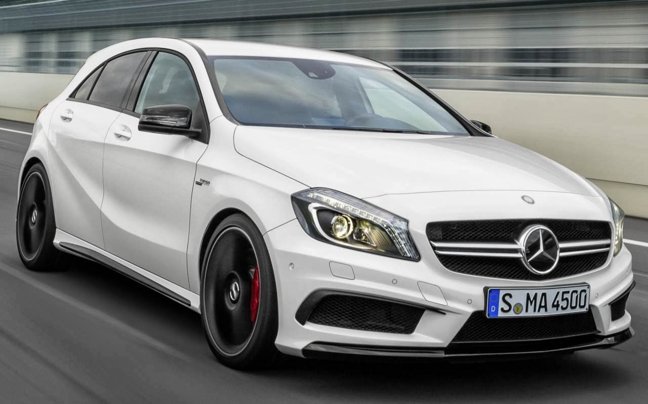 mercedes a45 amg pre o de r 260 mil no brasil car blog br. Black Bedroom Furniture Sets. Home Design Ideas