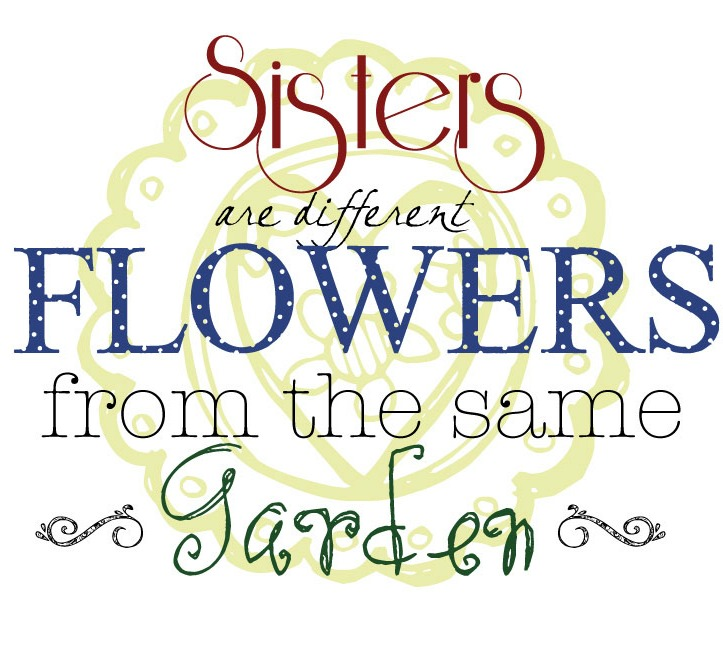 Images Of Quotes About Sisters: 3 Sisters Quotes And Sayings. QuotesGram