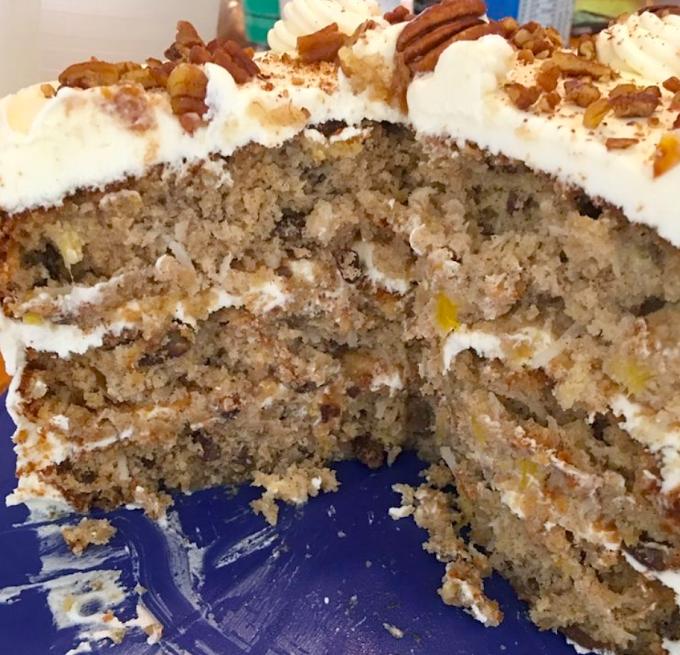 Hummingbird Cake Recipe - Tasty Apron