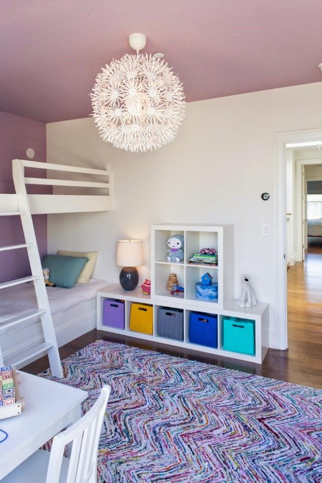 Habitación relajante para niño