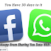 How To Stop Whatsapp From Sharing Your Data With Facebook.