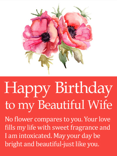 Best Birthday Wishes | Quotes | Messages and Images for Beautiful Wife