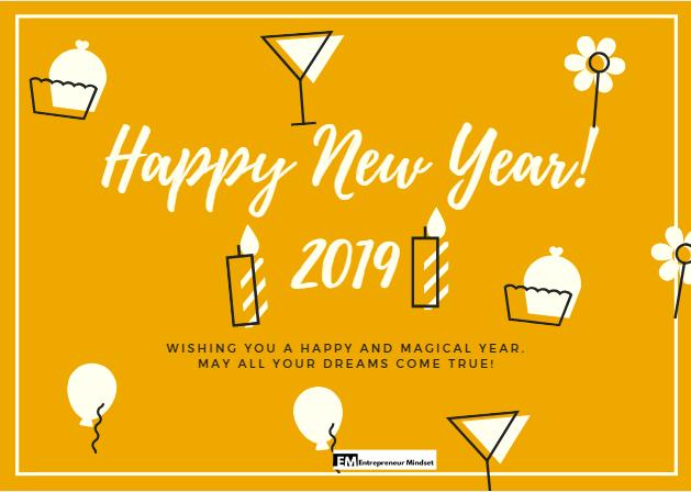 दोस्तों को नए साल की शुभकामनाएं  Happy New Year  2019 Wishes To Friends in Hindi