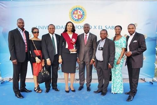 Beauty and Brains: Bianca Ojukwu Graduates with Msc from Spanish University (Photos)