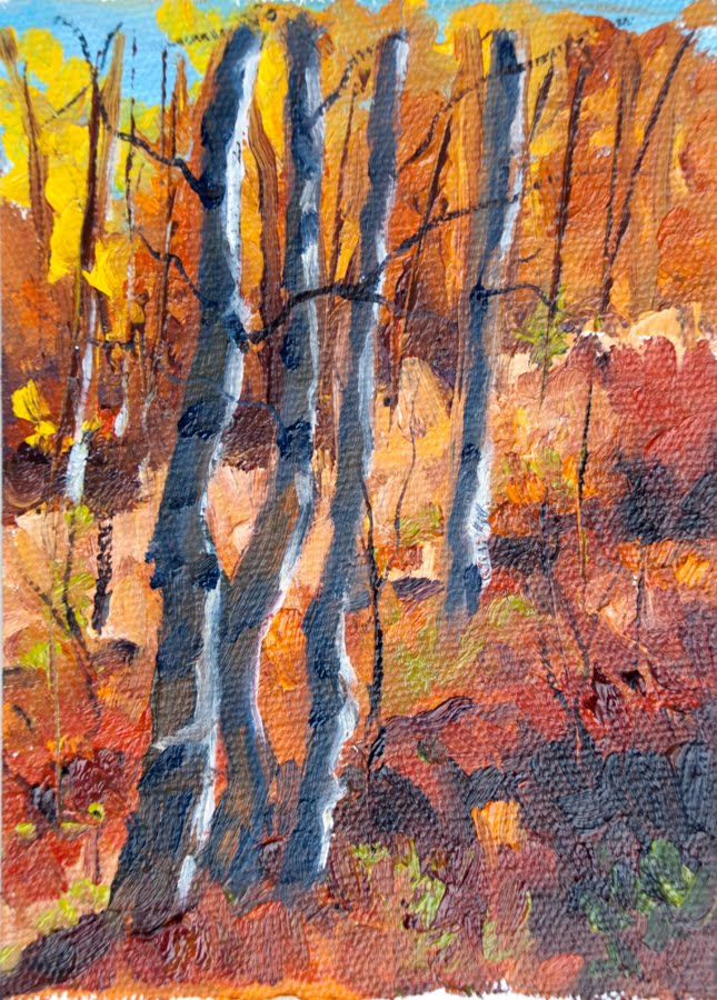 fall painting colours warm - photo #44
