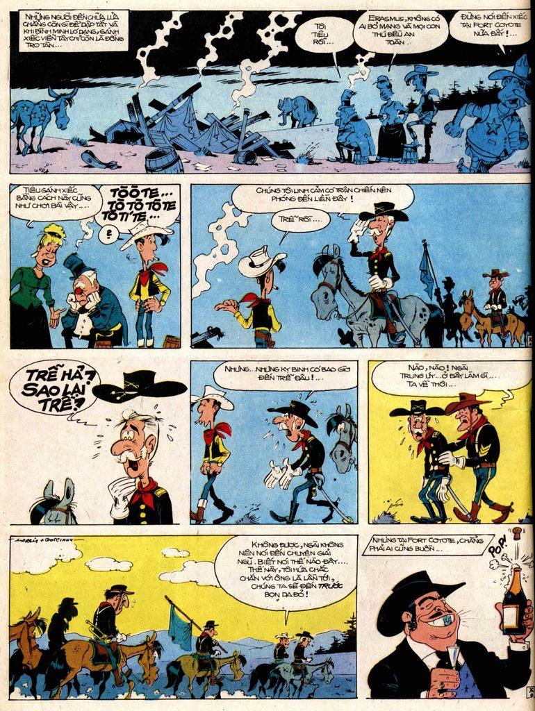 Lucky Luke tap 17 - ganh xiec mien vien tay trang 36