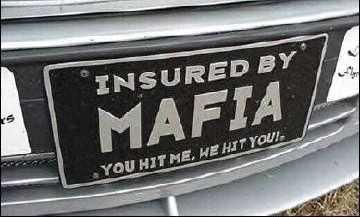 Car insured by mafia