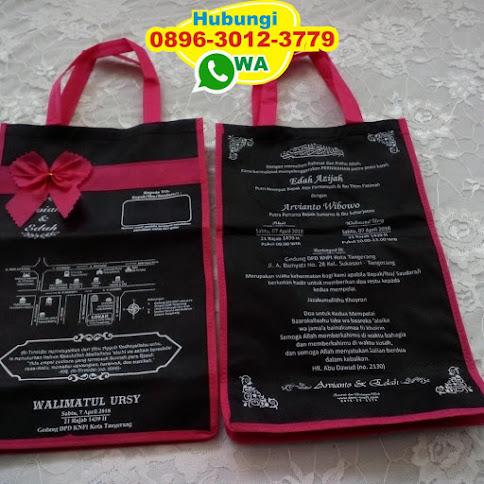 undangan nikah tas murah 53679