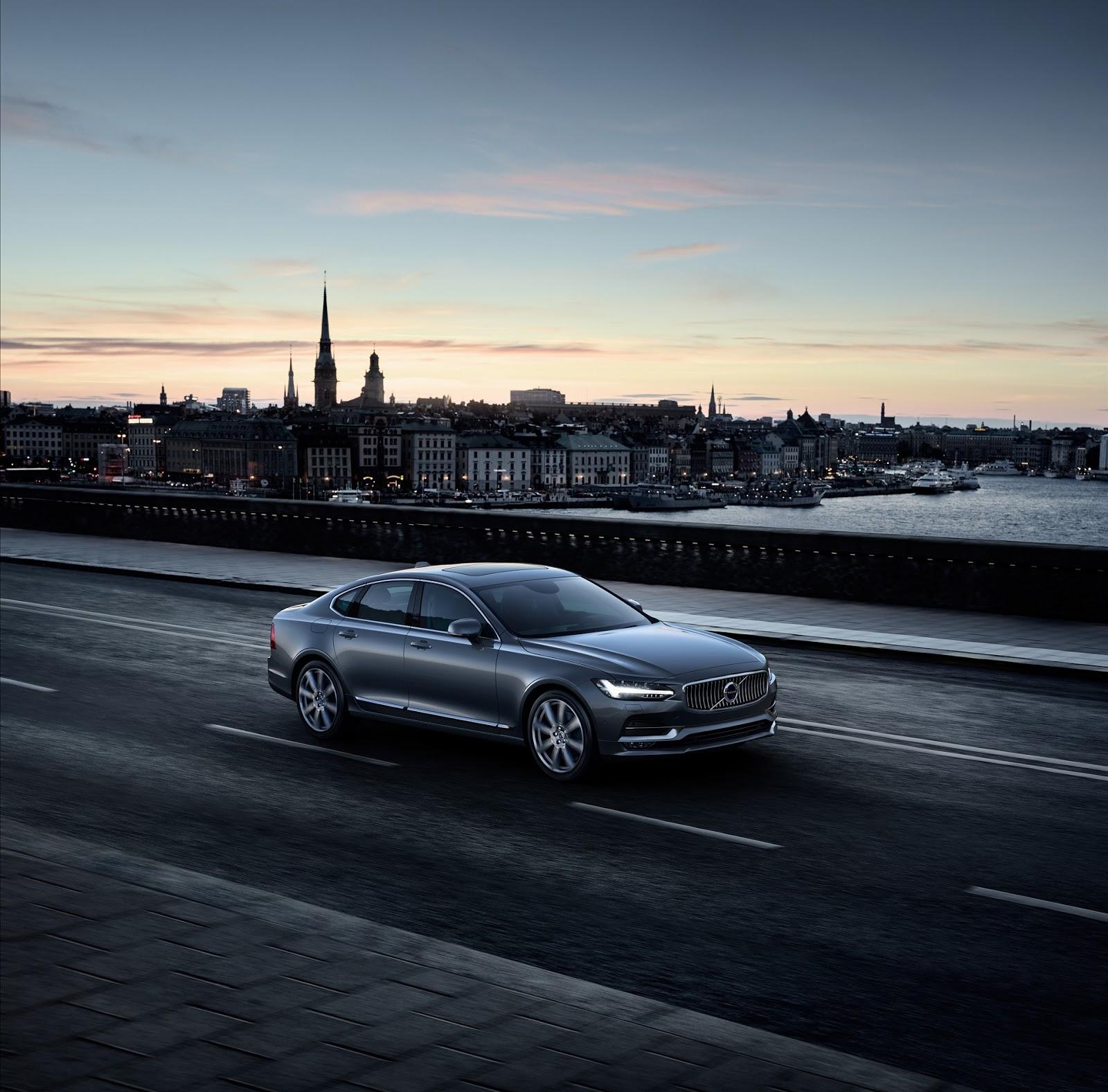 NEW%2BVOLVO%2BS90 170196 Location Front Quarter Osmium Grey Το νέο Volvo S90 έρχεται και βάζει φωτιά στον ανταγωνισμό premium sedan, Volvo, Volvo Cars, Volvo S90