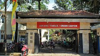 Lokasi Green Canyon Pangandaran