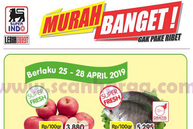 Katalog Promo Jsm Superindo Weekend Terbaru 26 - 28 April 2019