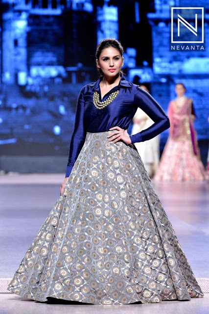 41 Shirt Style Choli With Lehenga Skirt