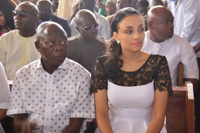adams oshiomhole wedding thanksgiving