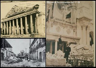 Terremoto en Guatemala 1917 1918
