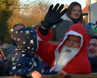 Vorweihnachtsmarkt in Bahrenfleth mit  Nikolaus