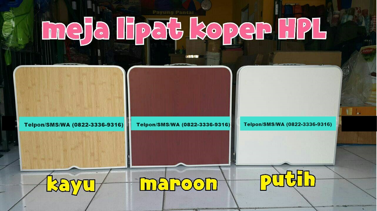 Meja Hpl Lipat Bentuk Tas Koper Laptop Portable Kami Juga Menyediakan Model Lain Seperti Dibawah Ini