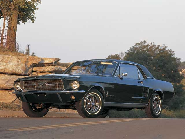 1967 Mustang Hardtop Pictures Gallery