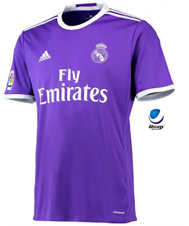 Jersey Real Madrid Away 1617