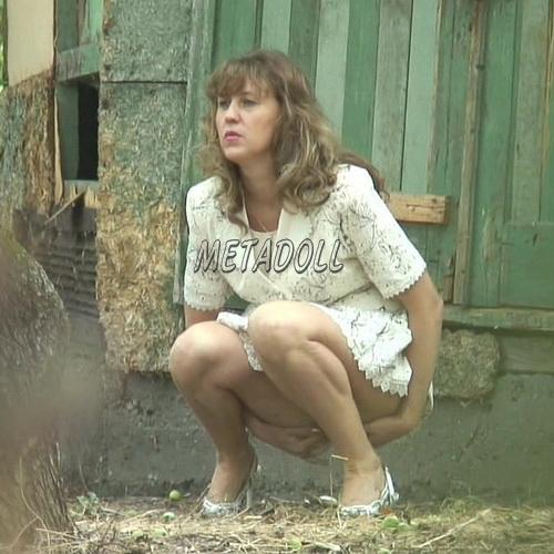 PissHunters 6000-6099 (Outdoor Peeing Voyeur, European ladies caught by hidden cam in the public toilet)