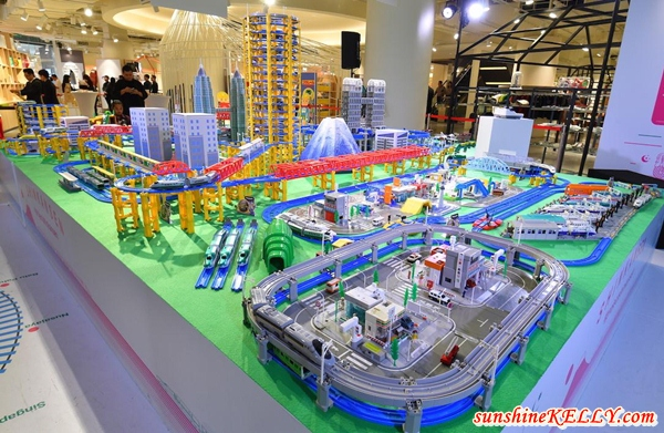 Project Shinkansen, Japanese High Speed Rail Exhibition @ Isetan The Japan Store, Kuala Lumpur
