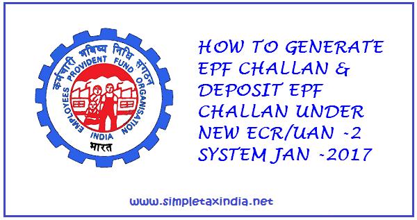 ELECTRONIC CHALLAN CUM RETURN (Version 2 0) PROCESS FLOW with