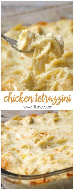 THE BEST CHICKEN TETRAZZINI #chicken #chickenrecipes #bestchicken #chickentetrazzini #easyrecipes #easydinnerrecipes #dinnerideas