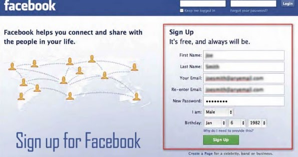 flirting signs on facebook account information