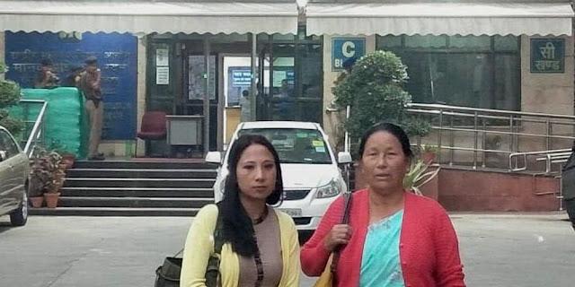 barun Bhujel's Mother Kumari Bhujel wife Sabita Bhujel