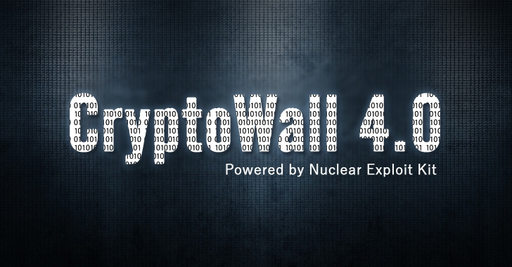 Hackers are using Nuclear Exploit Kit to Spread Cryptowall 4.0 Ransomware