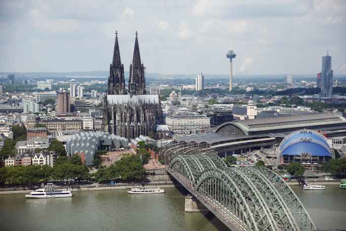 Beautypress Blogger Event Köln 2016 - Ausblick Köln Sky Lounge