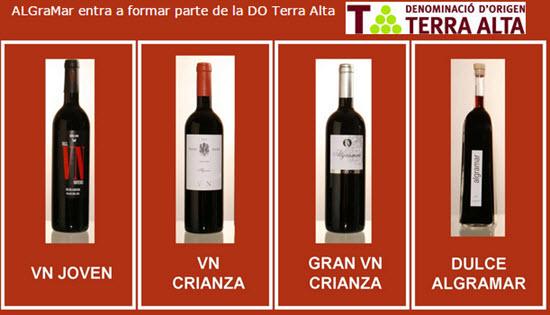 AlGraMar listado de vinos