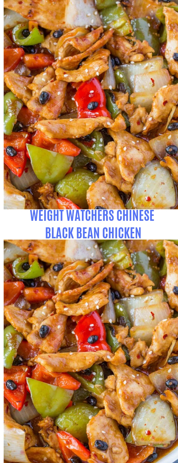 WEIGHT WATCHERS CHINESE BLACK BEAN CHICKEN