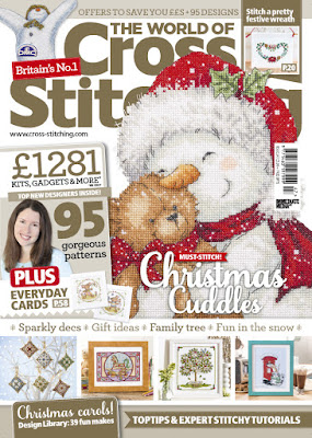 The World of Cross Stitching magazine Issue #247 November 2016