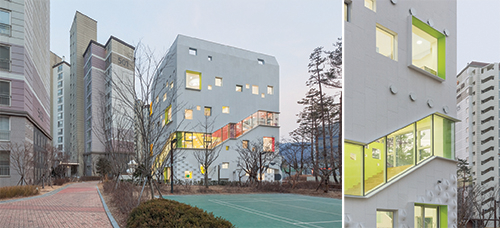 OA Labs Director Jungmin Nam Believed The Building Could Be A Breath Of Fresh Air To Neighbourhood Stating That Most Kindergartens In City